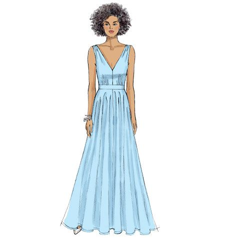 Misses' Special Occasion Dress, V9053 http://voguepatterns.mccall.com/v9053-products-49011.php?page_id=174 #voguepatterns