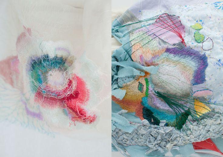 yumiko arimoto, embroidery