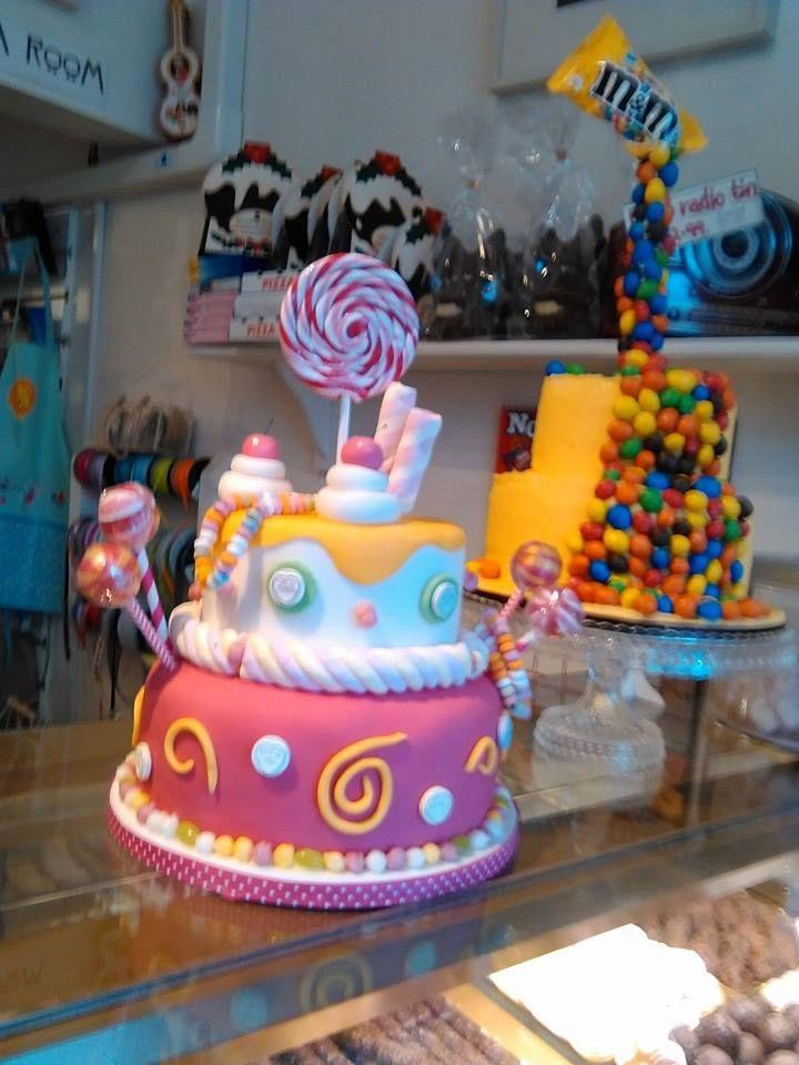 In all their glory, now displayed at Missie Marples chocolate & sweet shop www.kitchenfairiesleeds.co.uk