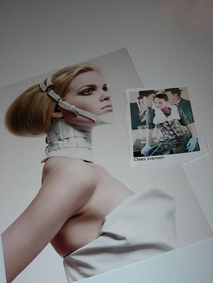 Werk van de Nederlandse Modeontwerper Claes Iversen (Denmark, 1977). Hij heeft de jurk ontworpen die zangeres Ilse DeLange (The Common Linnets) zal dragen tijdens haar optreden tijdens het Eurovisie Songfestival 2014 in zijn geboorte land. #ClaesIversen
