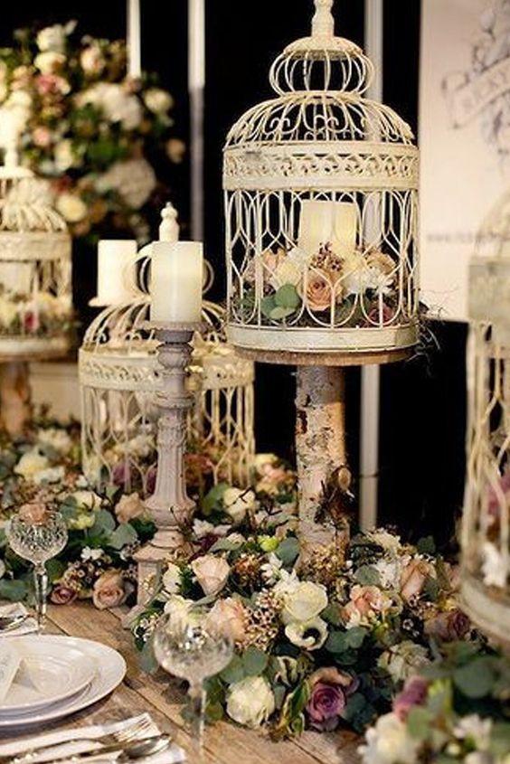 24 best bodas vintage images on pinterest layette pink - Decoraciones bodas vintage ...