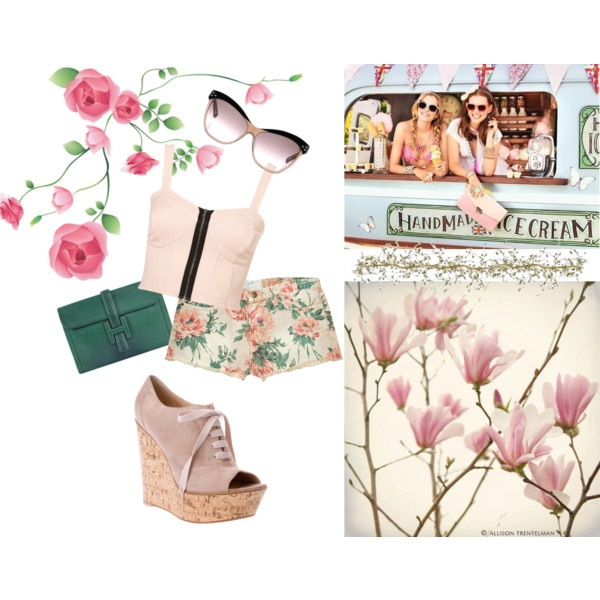 Spring is as Sweet as Ice Cream!, created by tomodel on Polyvore