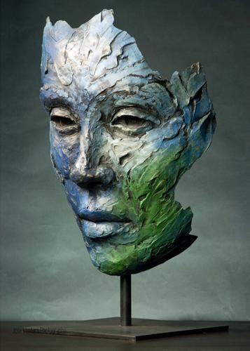 Lionel Smit - Sculpture - Dark Silence In Suburbia