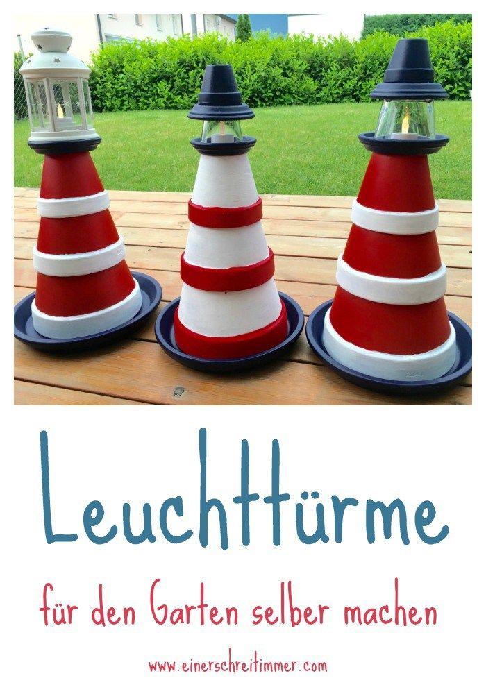 Garten-DIY: Zum Sommerbeginn bauen wir einen Leuchtturm