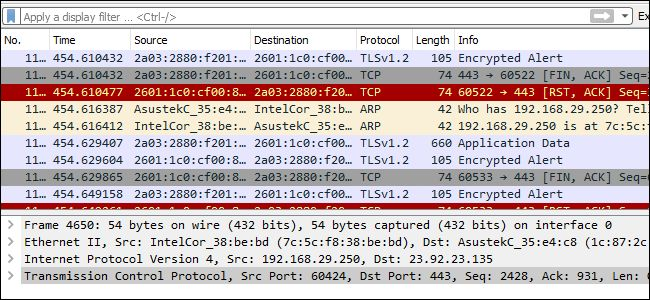 https://www.howtogeek.com/104278/how-to-use-wireshark-to-capture-filter-and-inspect-packets/