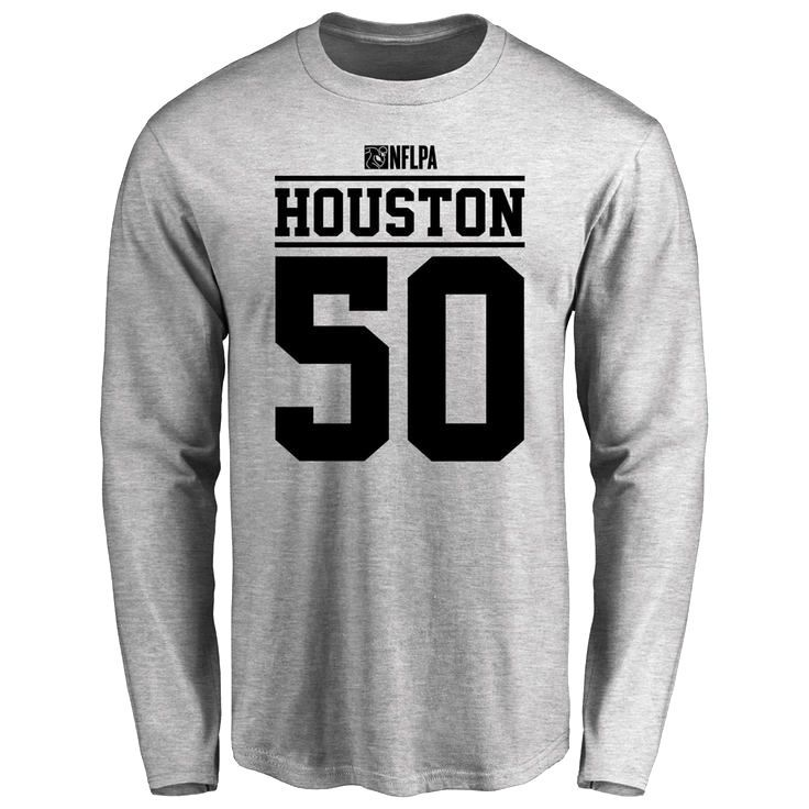 Justin Houston Player Issued Long Sleeve T-Shirt - Ash - $25.95