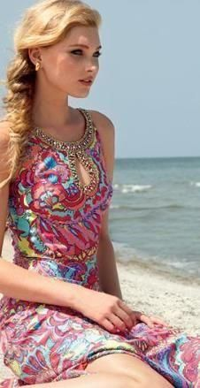 Lilly Pulitzer Resort '13- Delfina Maxi Dress in Feelin Groovy