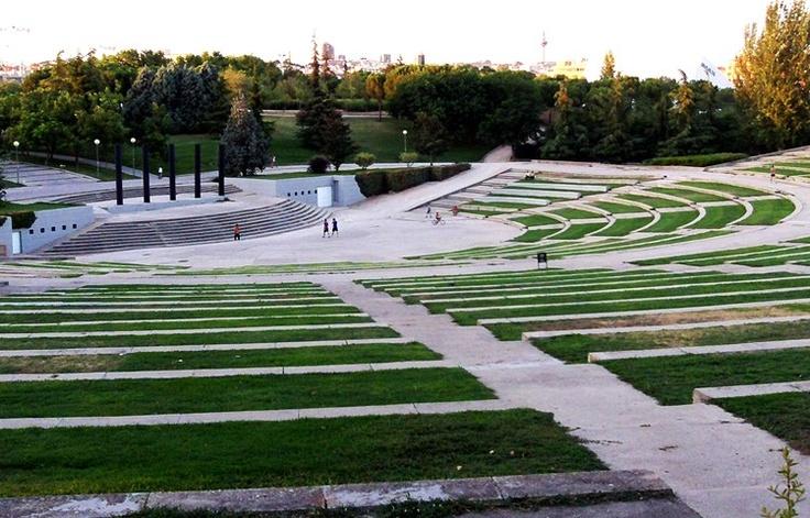Enrique Tierno Galván Park, Madrid