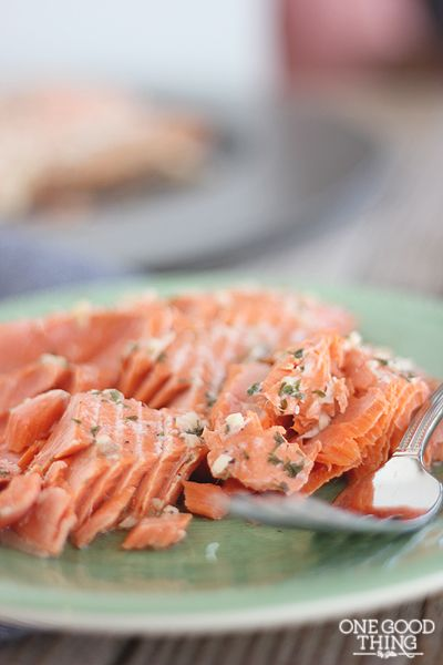 Honey Lemon Salmon