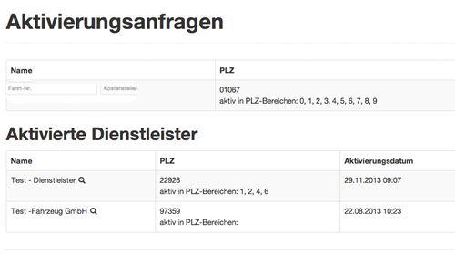 ONLOGIST - der Marktplatz für Fahrzeuglogistik - Aktivierungsanfrage Auftraggeber  www.onlogist.com www.singledriver.de