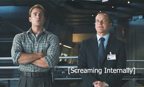 Don't worry Coulson, we all would be too.