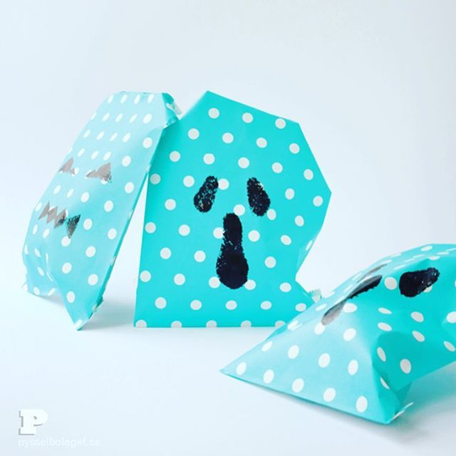 Why not print your own treat bags for Halloween? We show you how to on the blog…