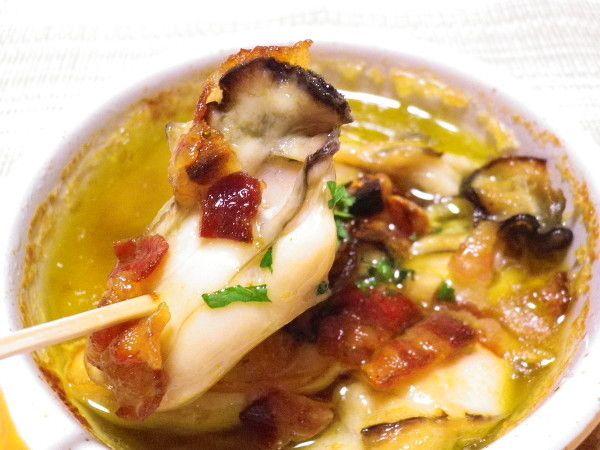 ◆牡蠣とパンチェッタのアヒージョ◆オリーブオイル煮 by 宮本 明美 ...