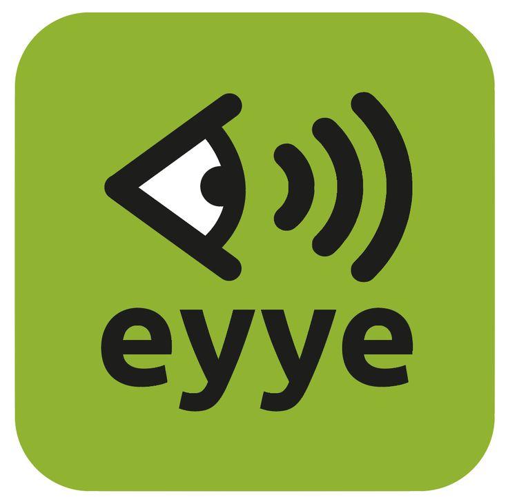 Création du logo et de l'icône d'application eyye. Anne-Lise Mommert / PommeP