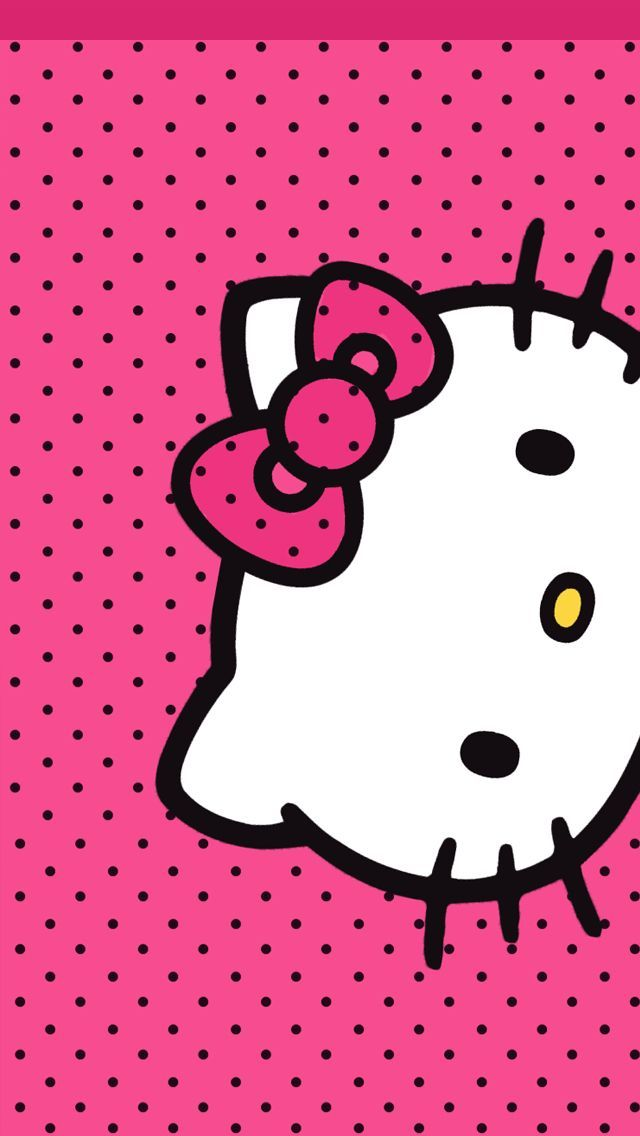 Hello Kitty Wallpaper and like OMG! get some yourself some pawtastic adorable cat shirts, cat socks, and other cat apparel by tapping the pin!