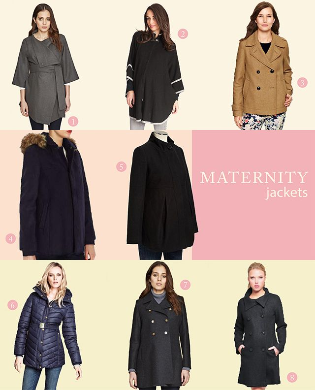 Maternity jackets and winter coats - Bunny and Dolly #maternityfashion #pregnancy