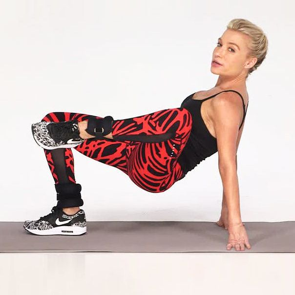 Want super-toned thighs? Watch this video to learn how to do Alternating Knee Pulls with celebrity fitness trainer Tracy Anderson. This exercise will tighten the muscles in your thighs and set you up for a strong, stable core.#HEALTHxTA | Health.com