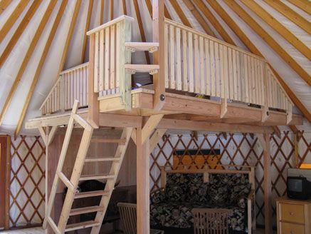 Colorado yurt company yurt interior design ecovillage for Yurt bathroom designs