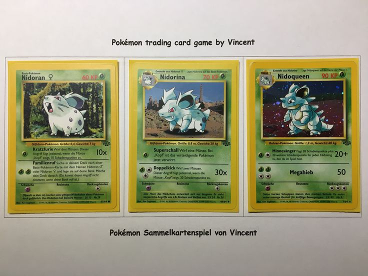 pokemon nidoqueen card - 736×552