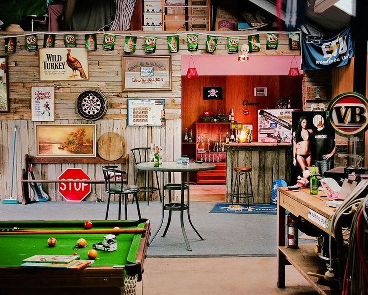 Turn your garden shed into a man cave!  Source: http://www.slate.com/blogs/behold/2013/11/26/jasper_white_photographs_man_caves_in_rural_australia.html