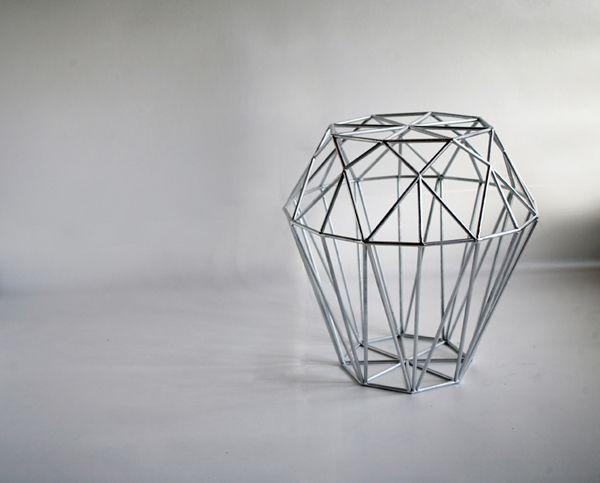 Shine Stool By Kaori Aoi Inspired By Diamonds · Chair DesignFurniture ...