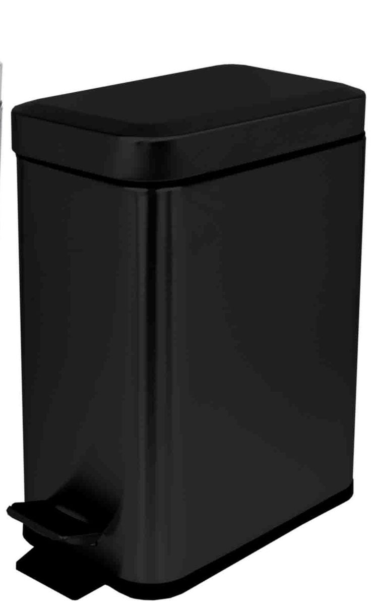 1.32 Gallon Step-On Stainless Steel Trash Can