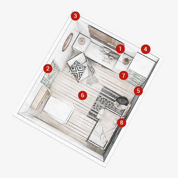 Amenager Une Petite Chambre 7m2 Parfait Pour Un Enfant En Bas