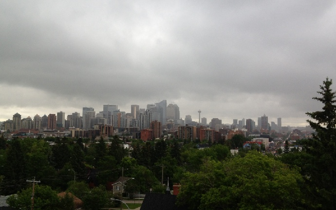 City of Calgary declares local state of emergency amid rising water levels June 20,2013... On Thursday, heavy rain and flooding prompted several Alberta communities to declare local states of emergency. According to Weather Network reporter Kelsey McEwen, this is only the second time the city has declared a local state of emergency. The first was in 2005, when heavy rain caused significant damage to 40,000 homes.