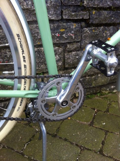 Raleigh Record Ace. 60cm. Traditional. Vintage. Classic Porteur/Utility/Leisure | eBay