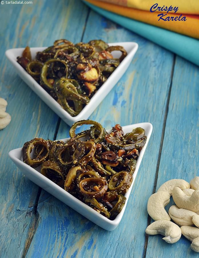Best 25 veg recipe sanjeev kapoor ideas on pinterest vegetarian crispy karela recipe karela recipes by tarla dalal tarladalal forumfinder Image collections