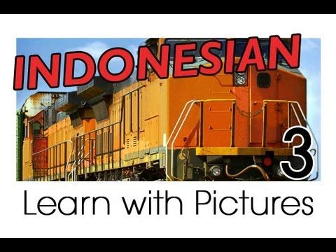 Learn Indonesian Vocabulary with Pictures - Getting Around in Vehicles