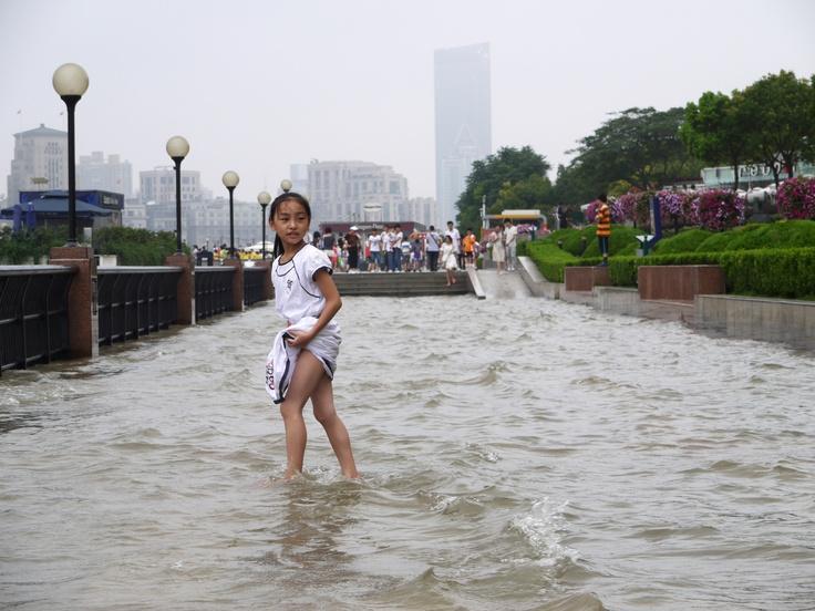 High tide in Shanghai