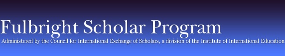 Fulbright Scholar Program