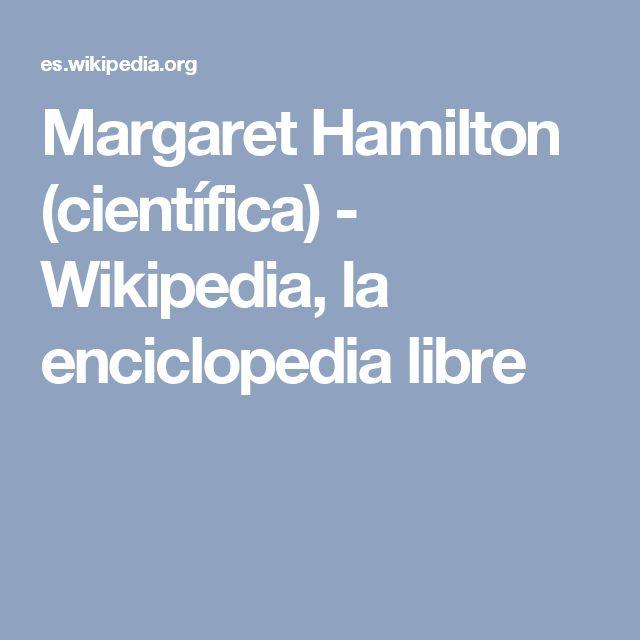 Margaret Hamilton (científica) - Wikipedia, la enciclopedia libre