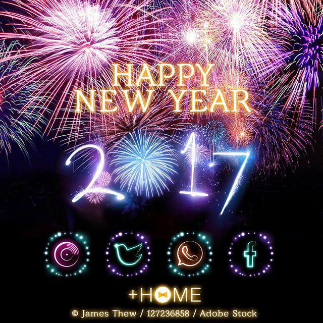 happy now new year themes