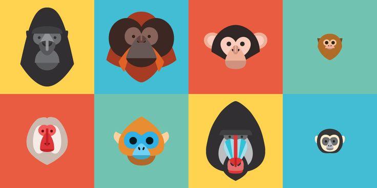primates-family by Justin Pervorse