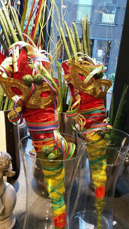Bloemen carnaval carnaval creatie diy pinterest see for Decoration carnaval