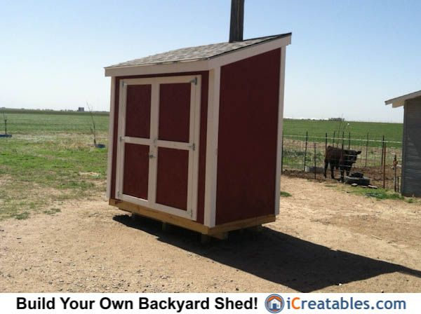 Need More Outdoor Storage Space? You Can Build Your Own Lean To Shed With A  Design Plan From ICreatables From 3 To 16 Feet Deep.