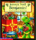 31997000758938 Joyeux Noël Benjamin ! Benjamin adore tout ce qui concerne la fête de Noël : la musique, les contes et surtout les cadeaux. Une collecte de jouets est organisée pour Noël, mais Benjamin n'arrive pas à décider de quel jouet il va se départir. Il apprendra qu'il est aussi plaisant de donner que de recevoir.