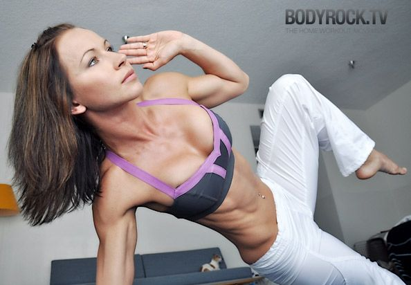 this chic is intense... BODYROCK