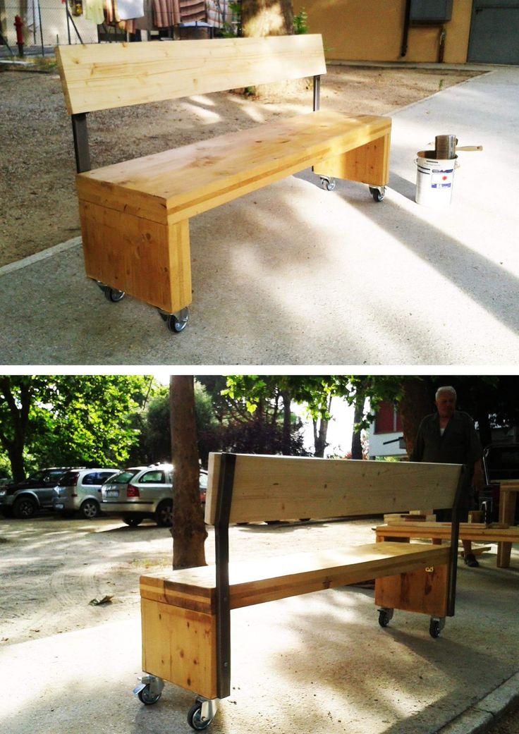 RE/XLAM recycling wood Tipi Studio