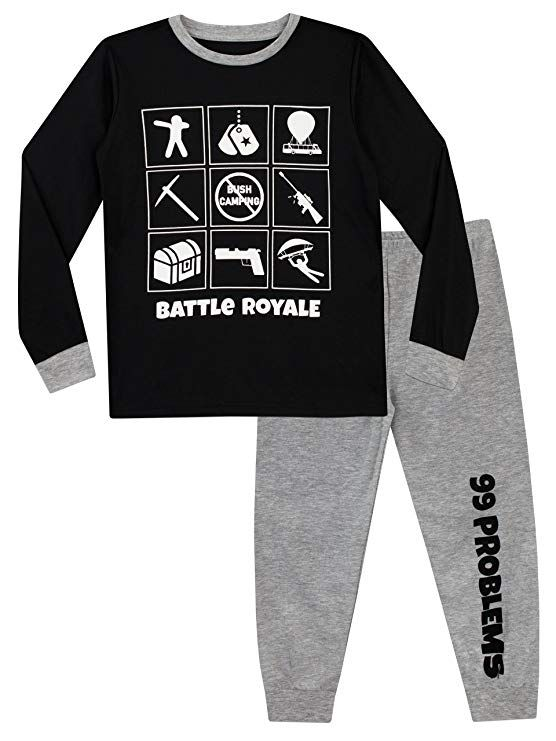T-shirts & Tops Fortnite Official Logo Boys Black T-shirt Battle Royale Top Gamers Tee Moderate Price