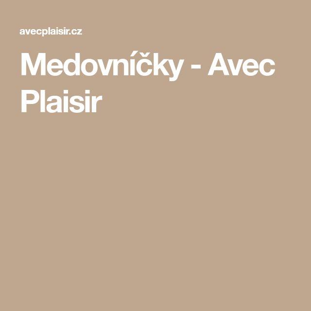 Medovníčky - Avec Plaisir