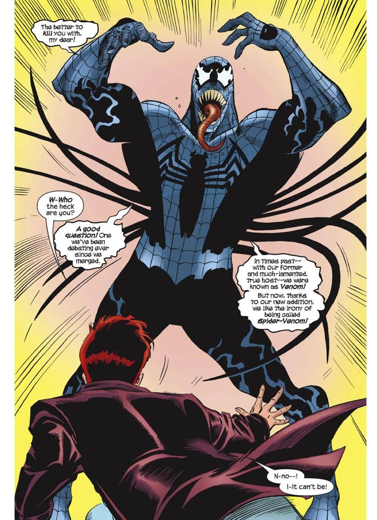 Spider-Girl vs. Venom in the first arc of Spider-Girl