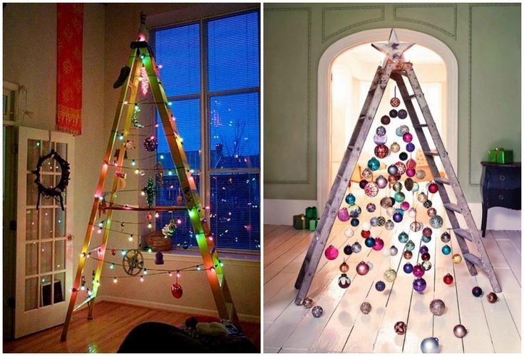 Фото: Несколько творческих идей для новогодней елки (Фото)