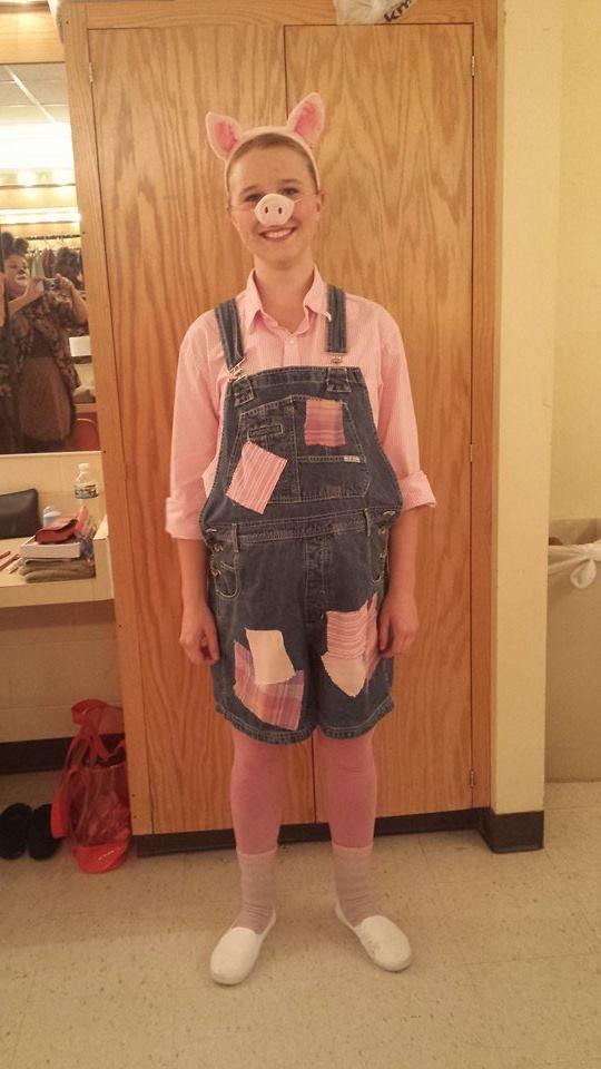 Little Pig costume from Shrek the Musical