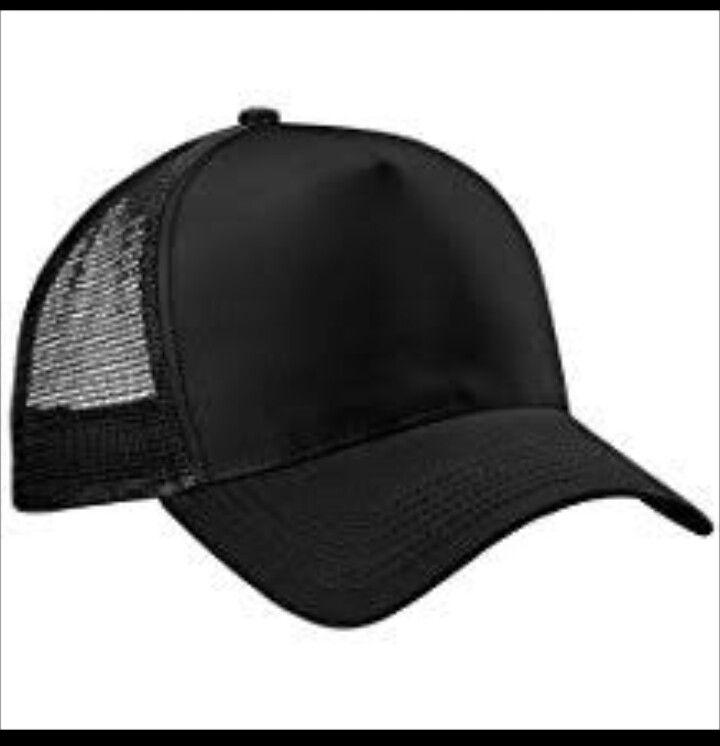 Gorra negra con malla trasera  bfda57f2538