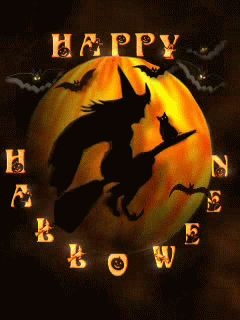 halloween moon Mobile Screensavers available for free download.