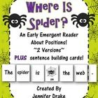 Are you ready for some 'spook'-tacular reading?!  Working on sight word recognition and reading with 1:1 correspondence with your early emergent re...