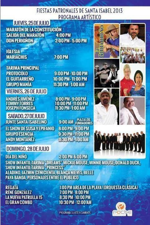 Fiestas Patronales de Santa Isabel2013 #sondeaquipr #fiestaspatronalesdesantaisabel #santaisabel #plazalosfundadores